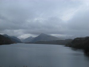 Lake Padarn at Llanberis