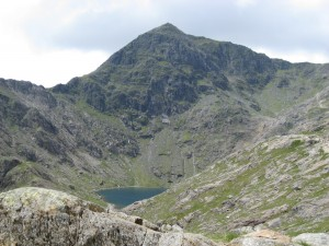 Snowdon from Pyg Track